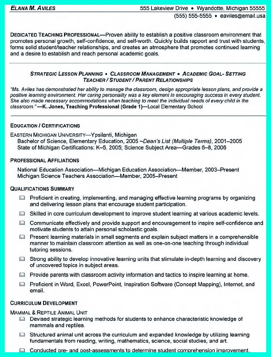 awesome Cool Sample of College Graduate Resume with No