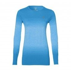 d0efd66569e Asics FuzeX hardloopshirt dames diva blue @asicseurope #asics #running # shirt #dames
