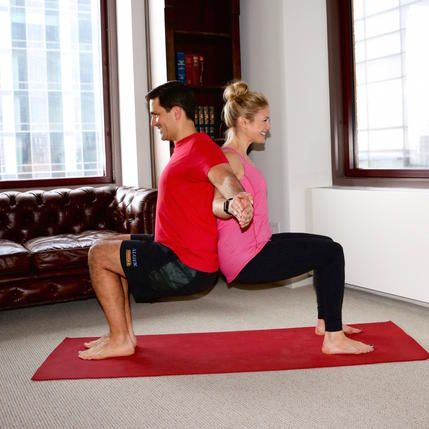the best yoga poses for valentine's day hint they