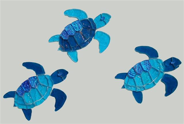 Greatest Sea Turtle Mosaic Pattern | Bottom of the pool ideas | turtles  NT07