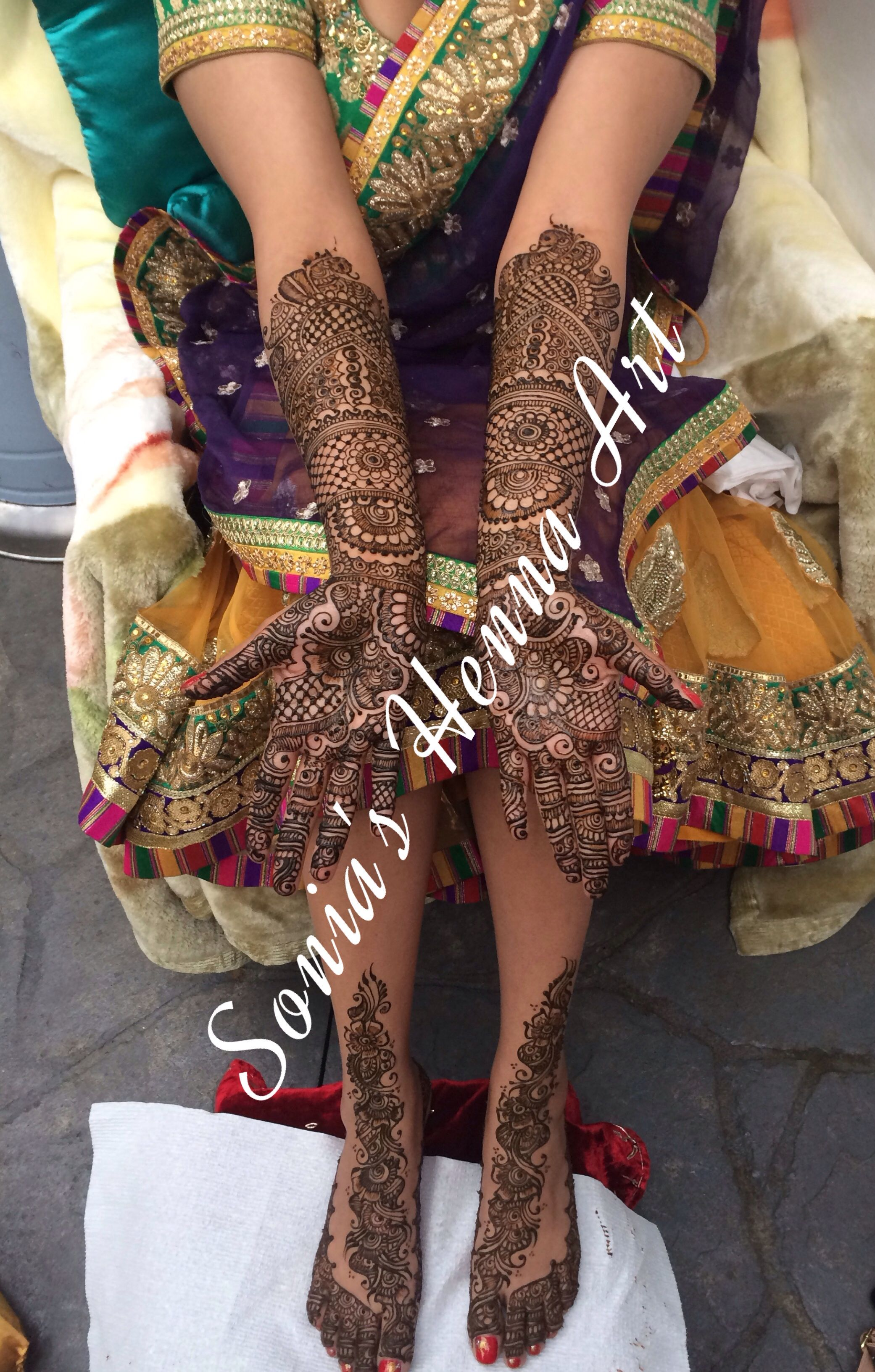 Party Mehndi Simple Design By Sonia39s Henna Art Bridal Henna