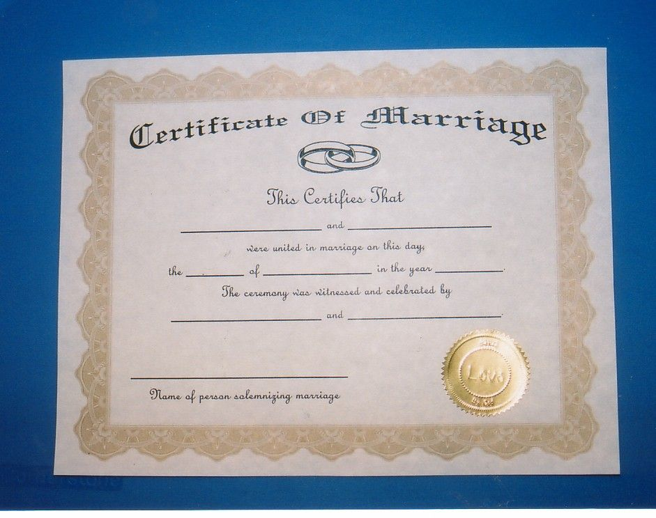 marriage certificate Marriage Pinterest Certificate - fresh hard drive destruction certificate template