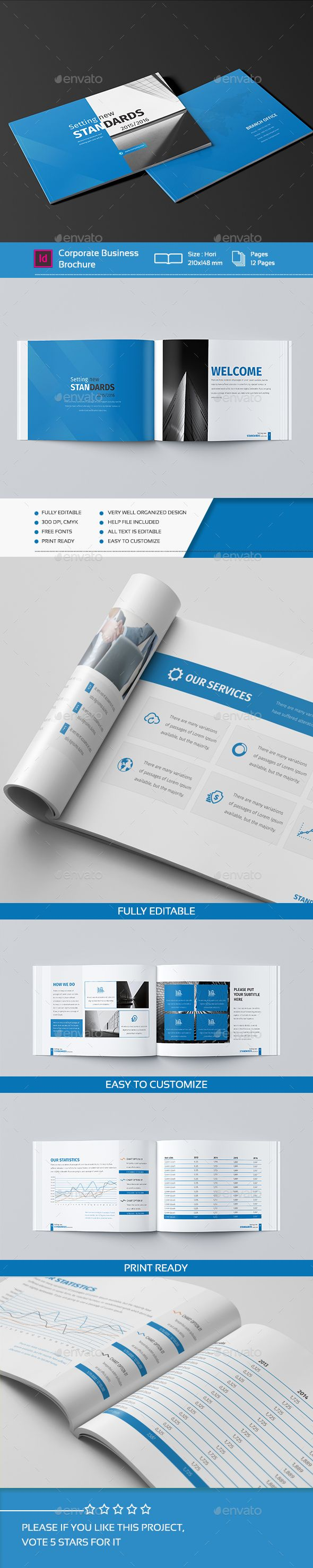 Mini Business Brochure  Pages A  Business Brochure Brochures