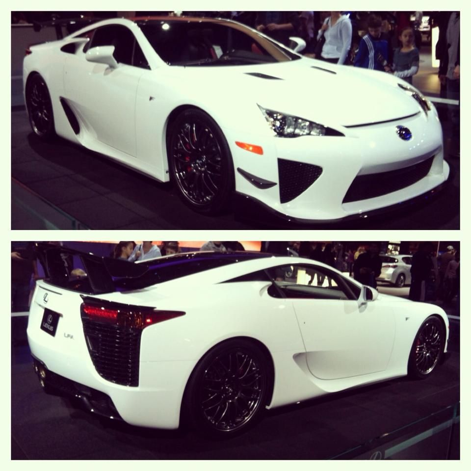 Lexus LFA Expensive In Fact More So Than Comparable Ferraris - Fast practical cars