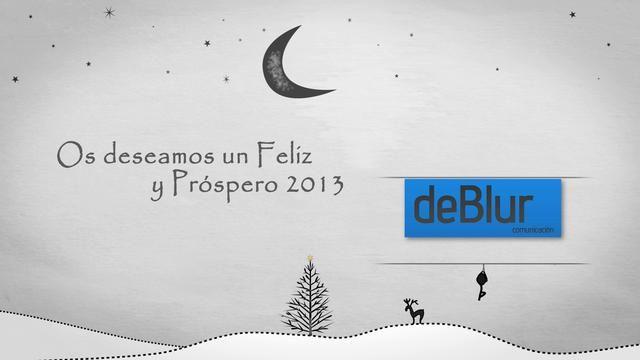 Felicitación 2013 Deblur Comunicación by deBlur Comunicación. 2012 ha marcado el inicio de nuestra aventura.