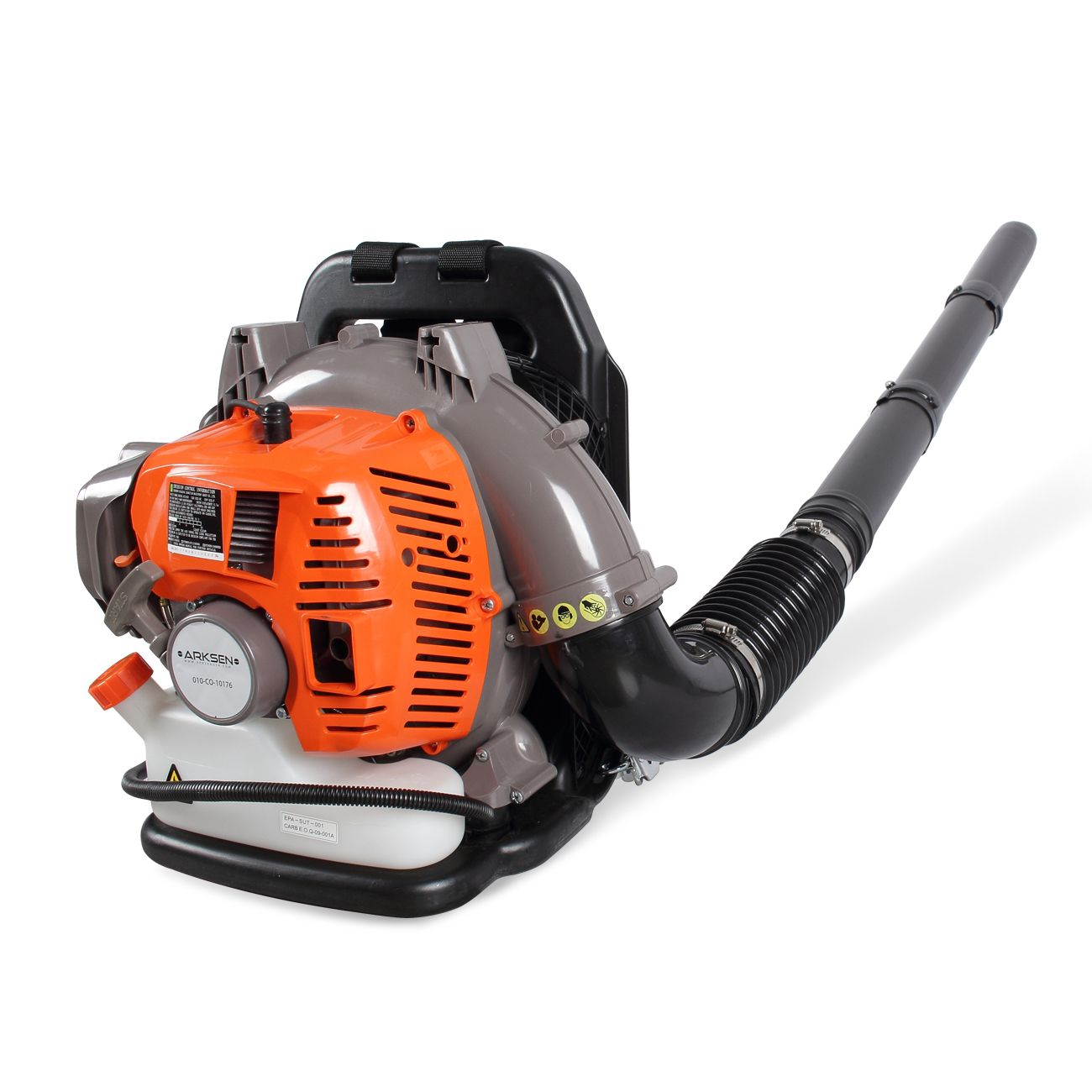 Recomeneded Arksen 52cc Gasoline Leaf Blower Backpack Garden 2 Cycle Gas Debris Duster Outdoor Backyard 2 Stroke Powered Epa Outdoor Backyard Leaf Blower Blowers