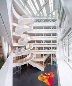 Image result for office atrium stairs
