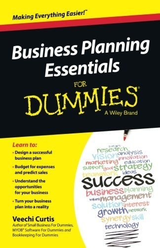 Business Planning Essentials For Dummies By Curtis Veechi