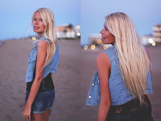 Beach lights! (by Schirin Frosch) http://lookbook.nu/look/3771941-beach-lights