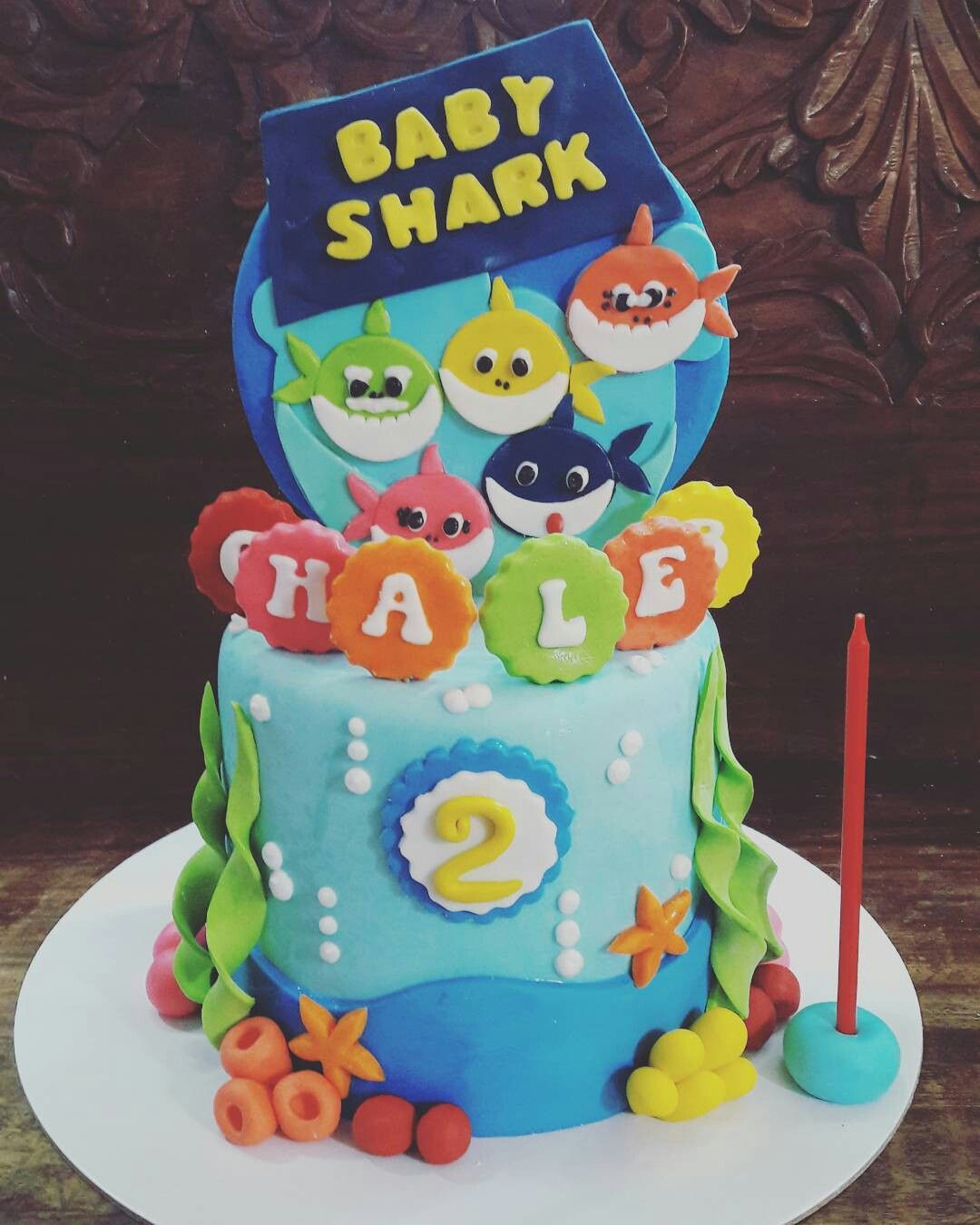 Pin By Jane Chia On Baby Shark In 2018 Pinterest Birthday 2nd