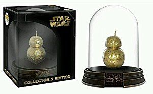 Amazon.com: Funko Pop! Star Wars Deluxe BB-8 Gold Chrome Acrylic Dome Hot Topic Exclusive Vinyl Figure: Toys & Games