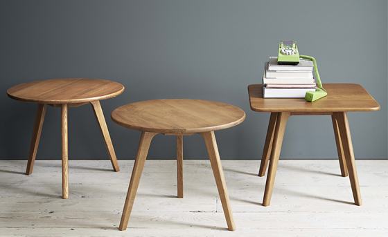 Larssen Scandinavian Coffee Table And Side Table Styled Brissi