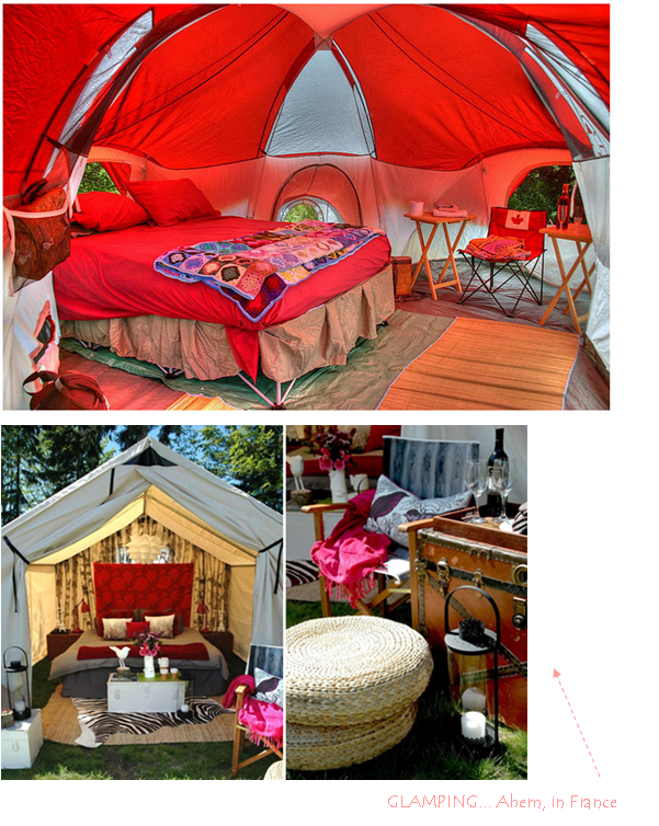i want to go glamping SO bad!