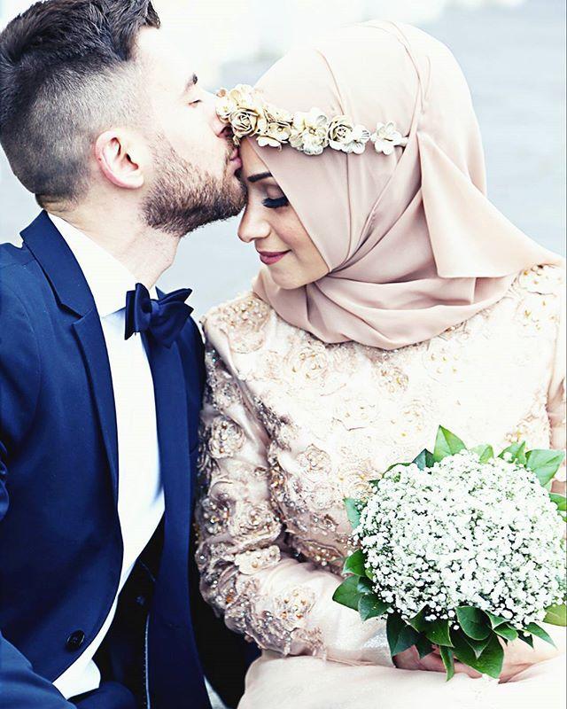 Instagram Photo By Omer Busra Mar 23 2016 At 11 06am Utc Muslim Wedding Muslim Brides Muslim Couples