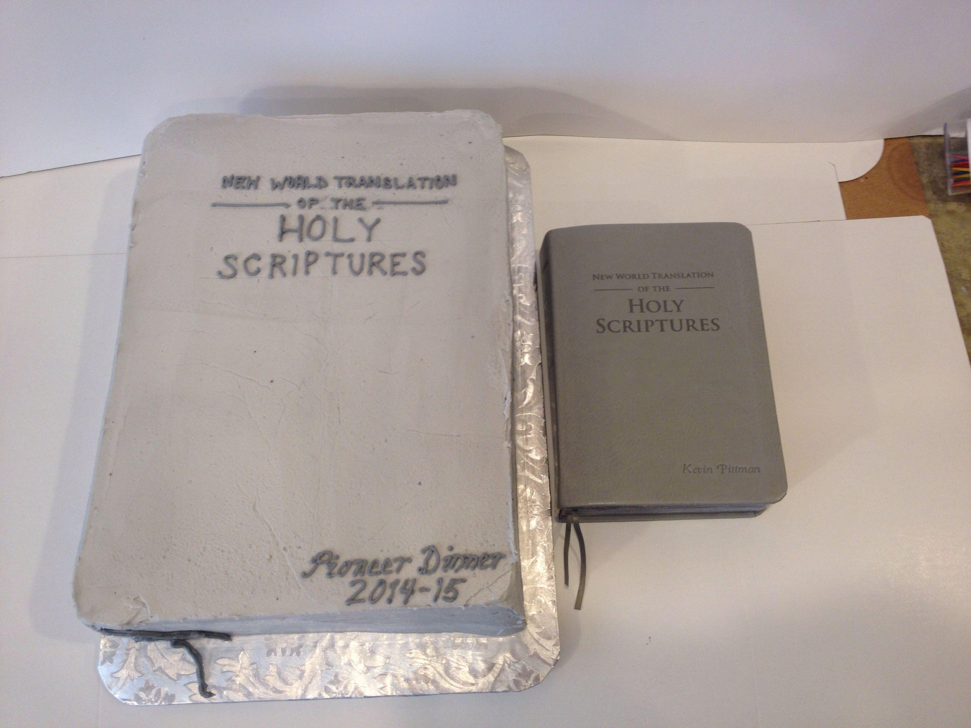 Pioneer dinner cake. New World Translation.