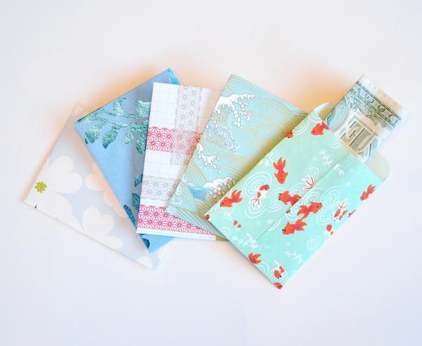 DIY Printable Mini Money Envelope Tutorial and Free Template - free money templates
