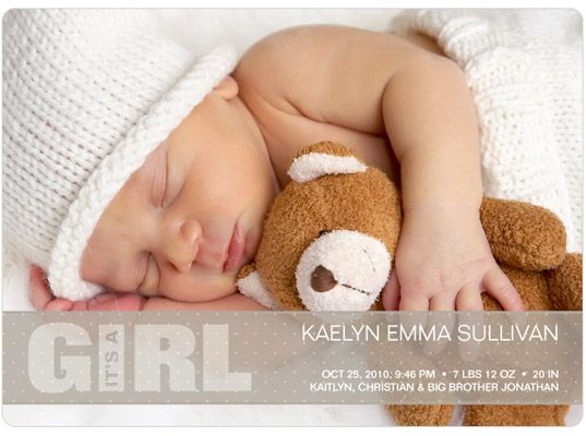 17 Best images about Baby Birth Announcement Ideas – Baby Photo Announcements