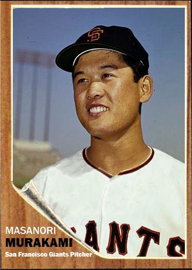 Masanori Murakami, SF 1964: the first Japanese player in MLB | Baseball,  Murakami, Baseball cards