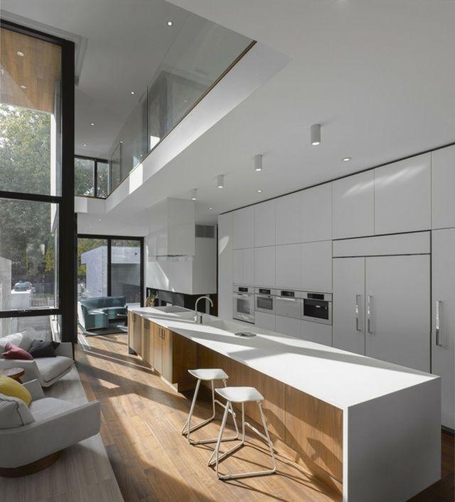 Idées De Déco Pour La Cuisine Moderne Design Architecture - Idee deco cuisine blanche pour idees de deco de cuisine