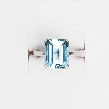 Ring BIBIGI Aquamarine (White Gold - Aquamarine ) #jewels #jewelry #rings #anelli