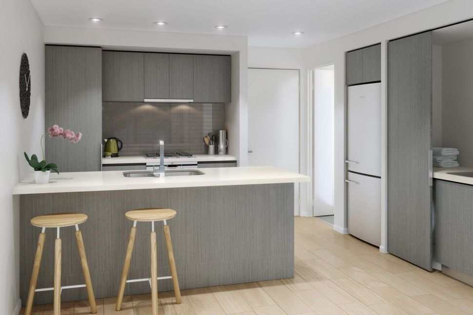 Kitchen:Sanctum Apartments KITCHEN COLOUR SCHEMES Modern Kitchen ...