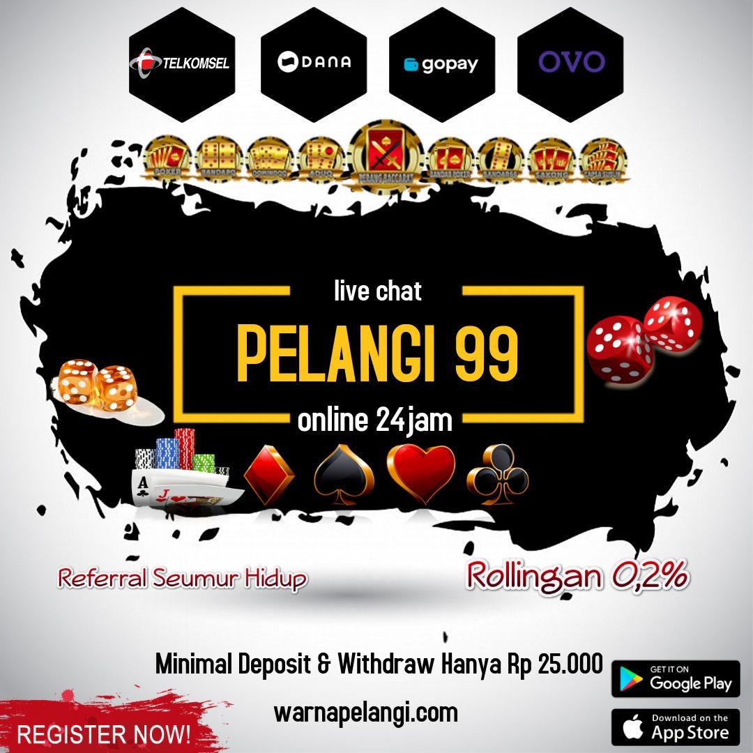 pelangi 99   capsa susun di 2020   Poker, Papan, Game