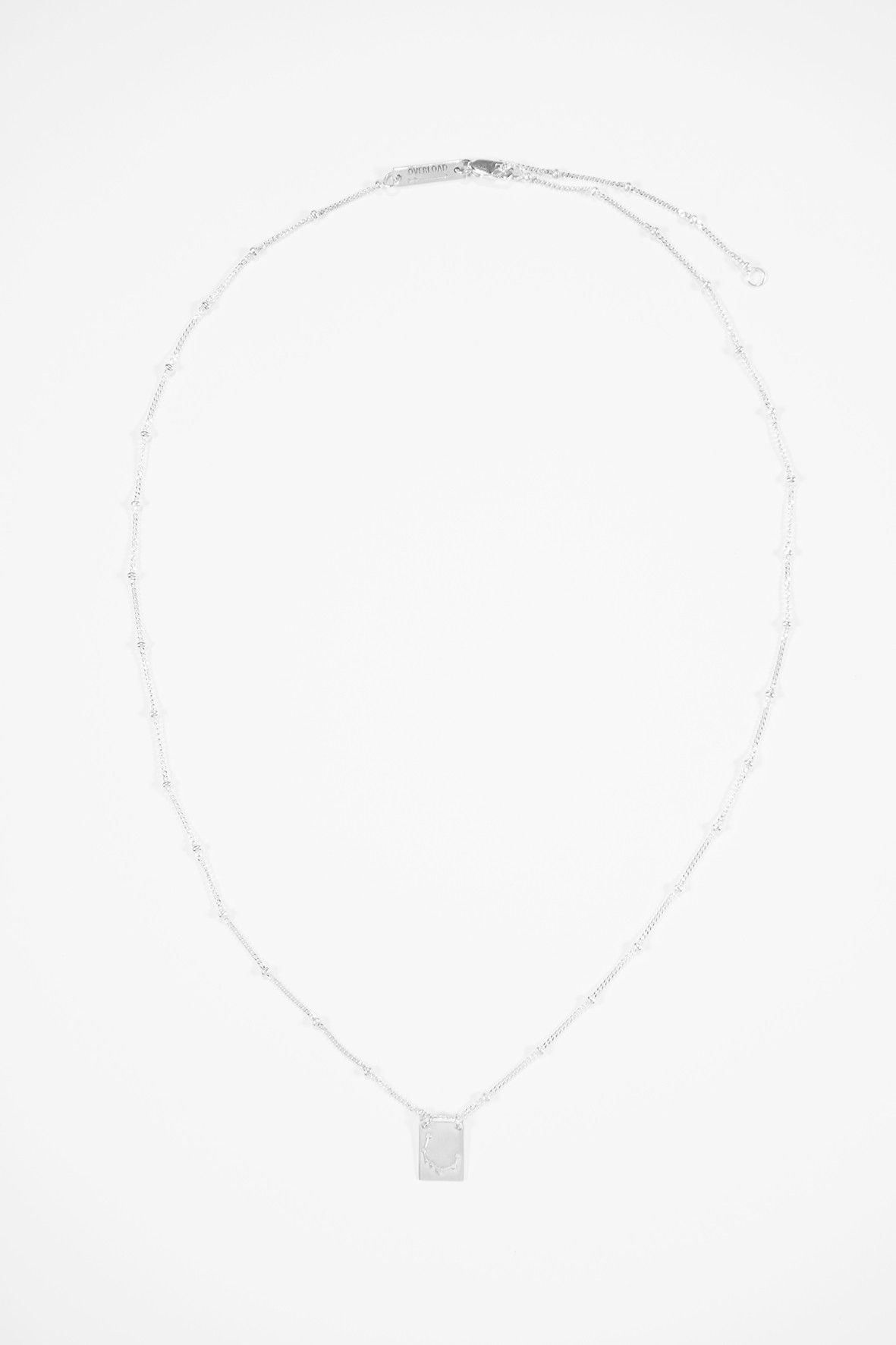 The Northern crown necklace silver