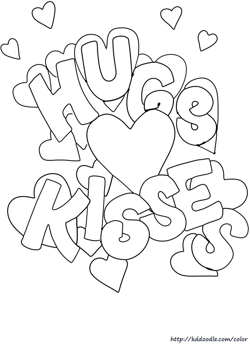 free printable coloring page color