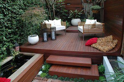 Tuinverbouwing Nieuwe Vloer : Tuinverbouwing met nieuwe vloer backyard porch and decking