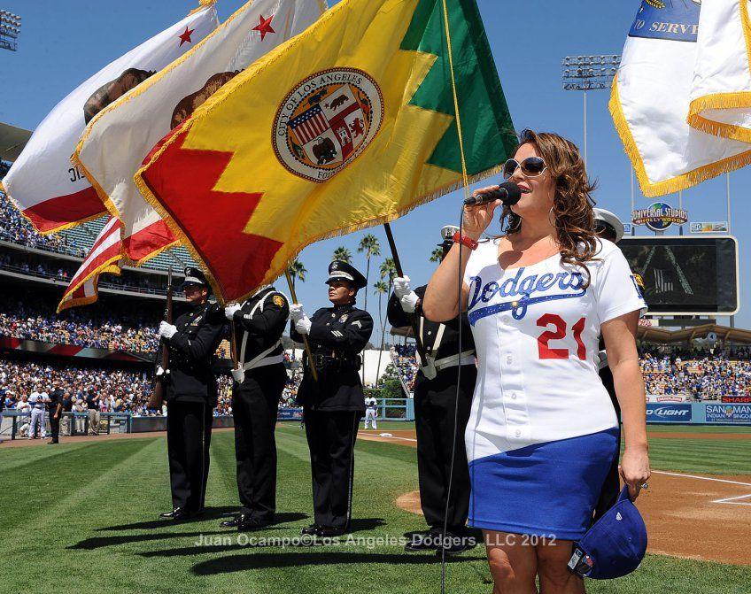 Los Angeles Dodgers V Miami Marlins Dodgers Jenni Rivera Dodgers Girl