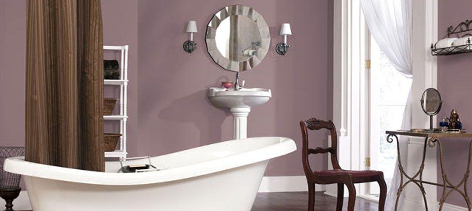 Sherwin Williams Plum Dandy Bathroom Paint Colors