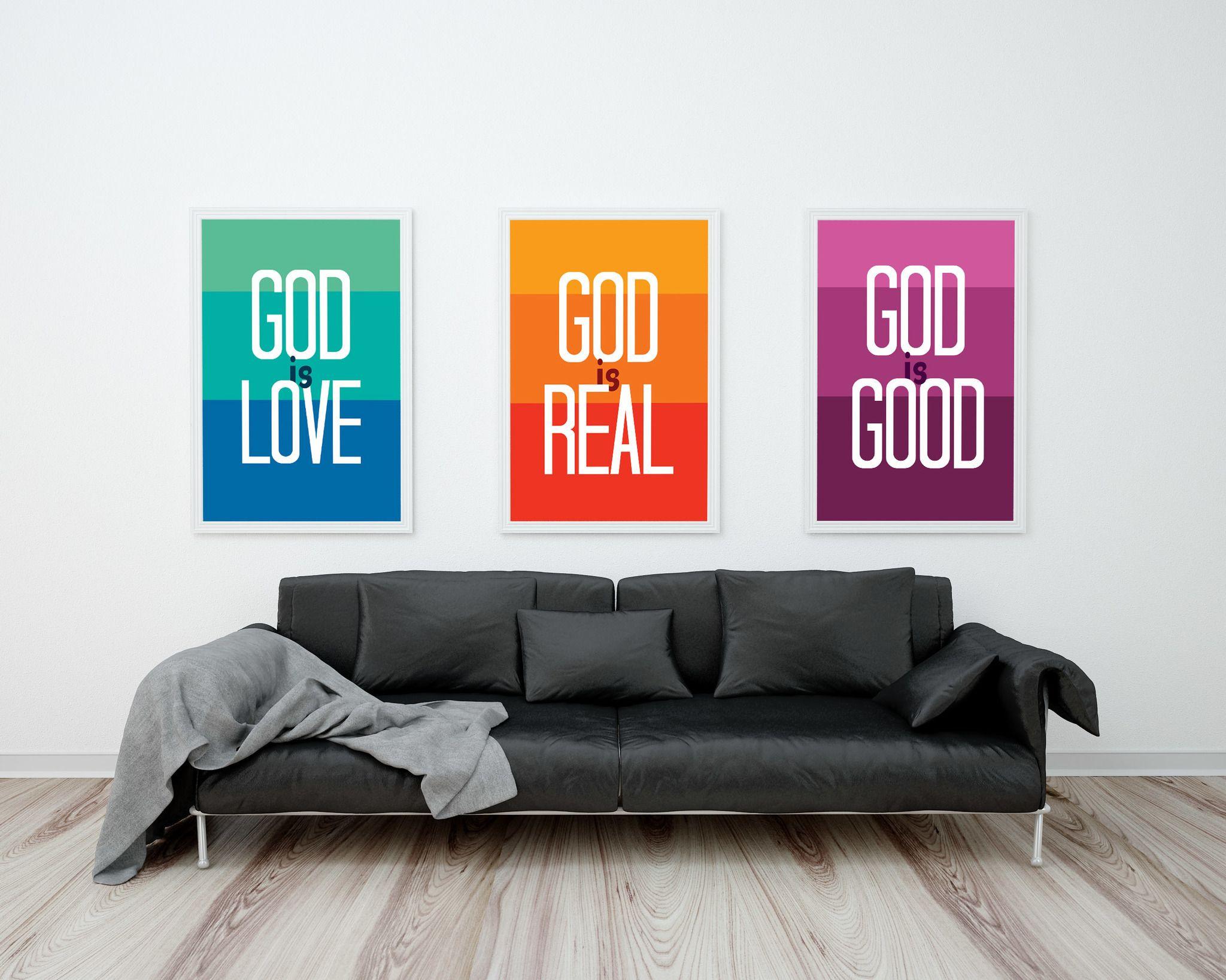 Conjunto ideal para encher a sua casa de fé. :)