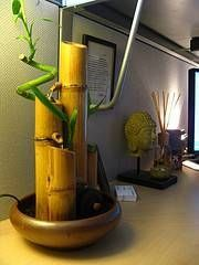 How To Build A Container Water Fountain With Images Bamboo
