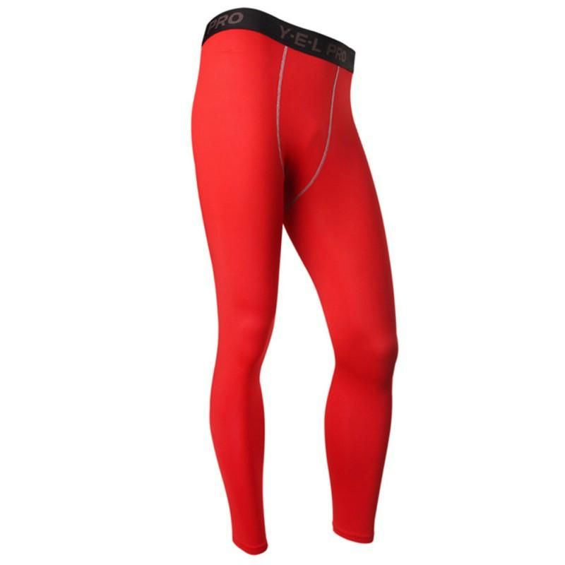 Mens Compression Athletic Pants Base Layer Legging Skin Sports Running Fitness