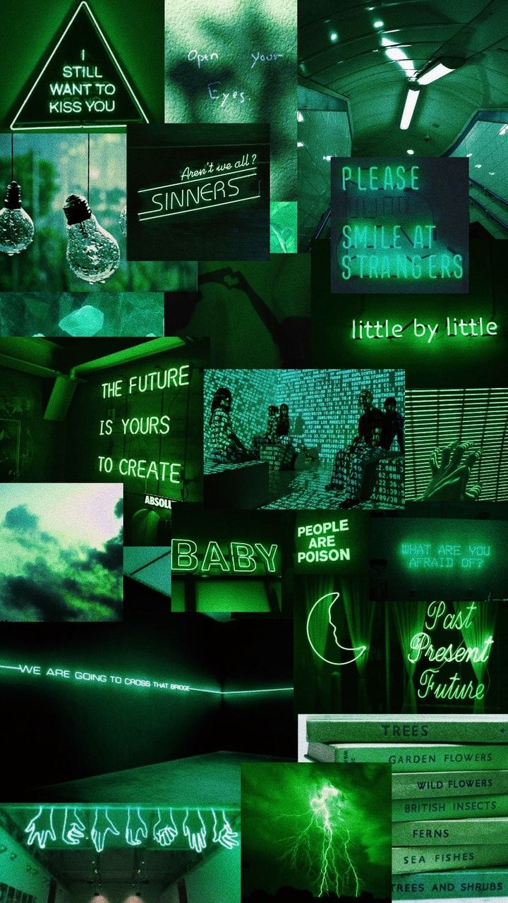 green neon bro these images are not my own, credit