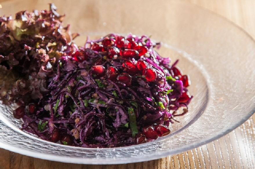 Грузинский салат из красной капусты   Рецепт   Капуста ...