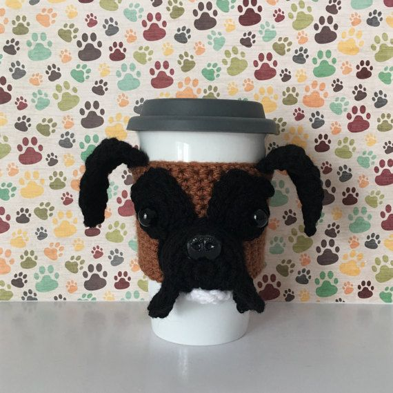 Boxer Dog - Gift for Boxer Lover - Boxer Dog Gift - Boxer Mom - Boxer Mug Cozy - Dog Lover Mug - Dog Themed Gift - Coworker Gift - Dog Cozy