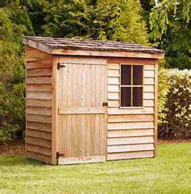 bayern small storage shed
