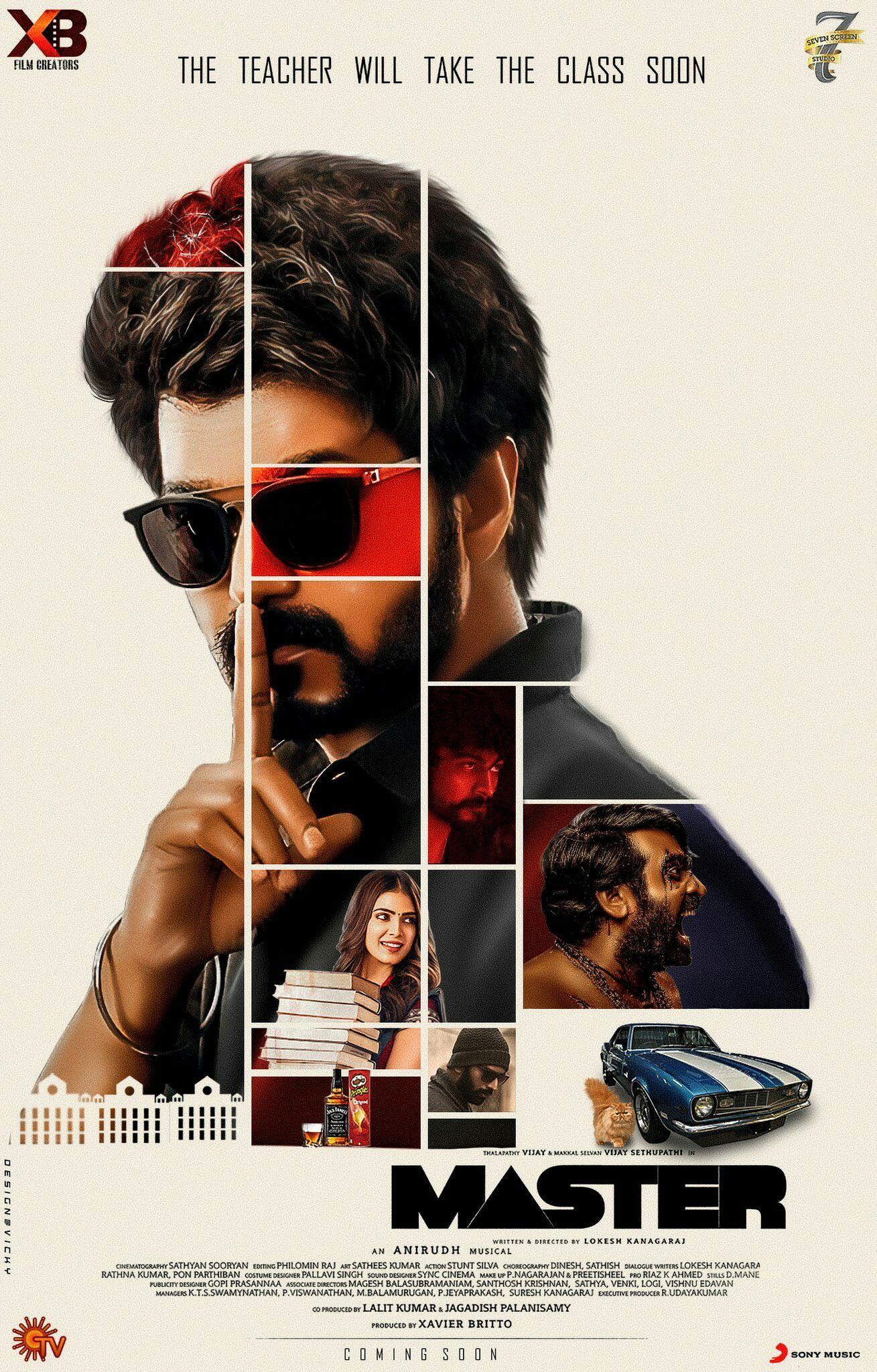 Vijay Master Movie Portrait Photography Men Cute Actors Actor Photo