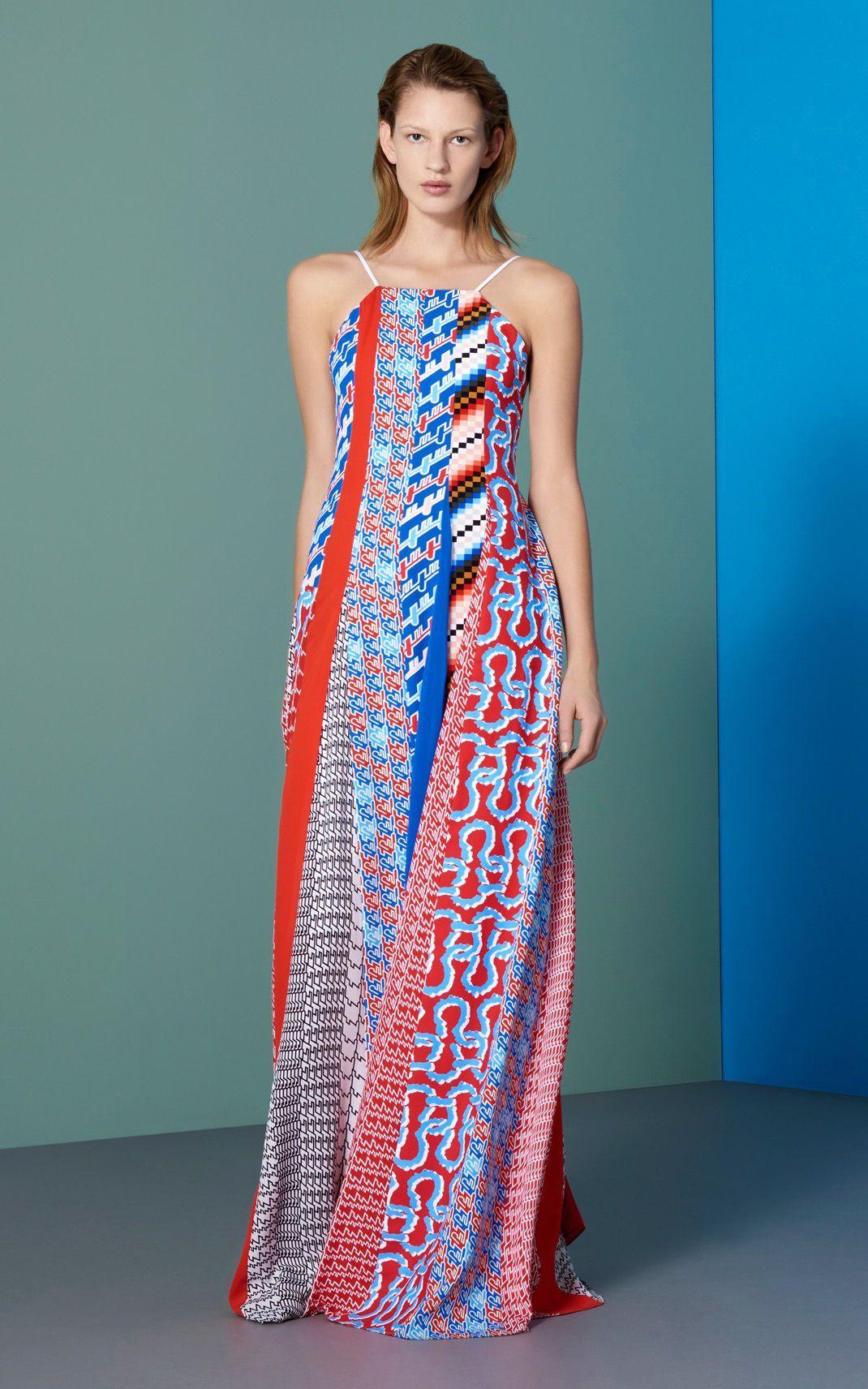 kenzo maxi dress