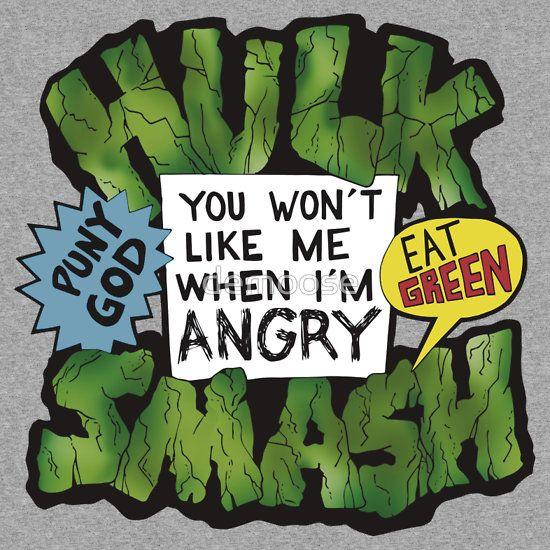 Hulk Quote Hulk Marvel Character Animal Green Typography Amazing Hulk Quotes