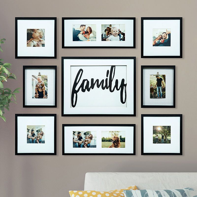 Home Kitchen Decor Picture Fresh Fruit Salad Wall: 9 Piece Family Dcor Frame Kit
