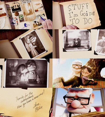 my adventure book! scrapbook inspired by the movie UP | Brilliant