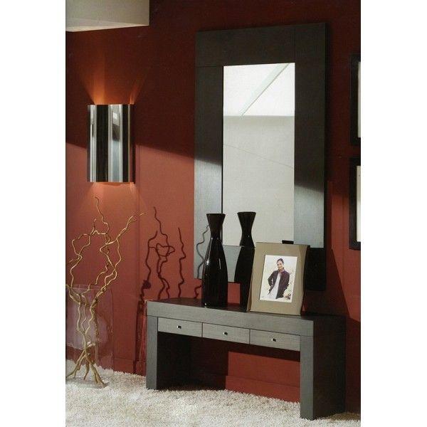 Espejo pared grande entradas pinterest paredes grandes espejo y dise o moderno - Espejos grandes de pared ...
