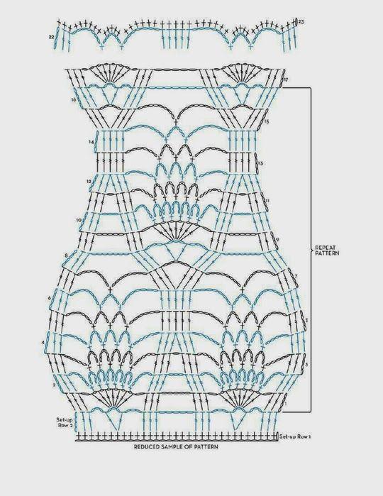 Poncho Enredos de Crochet Patron - Patrones Crochet   Crochet and ...