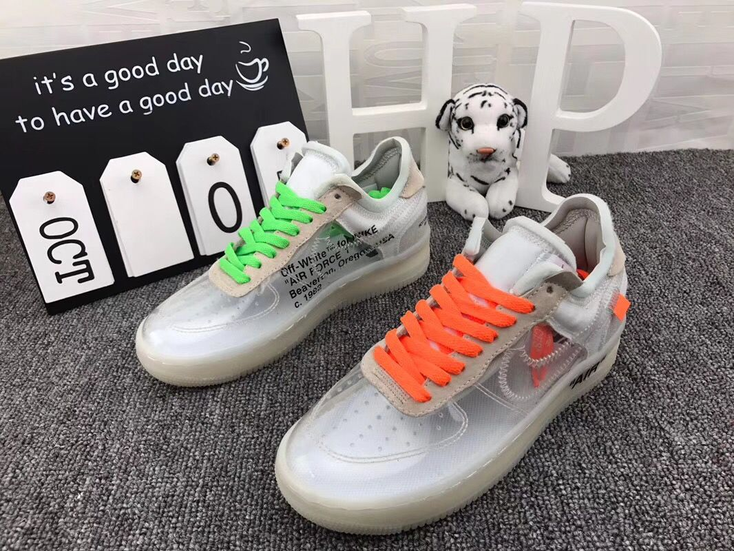 OFF White x Air Force 1 low | Nike shoes, Shoes, Sock shoes