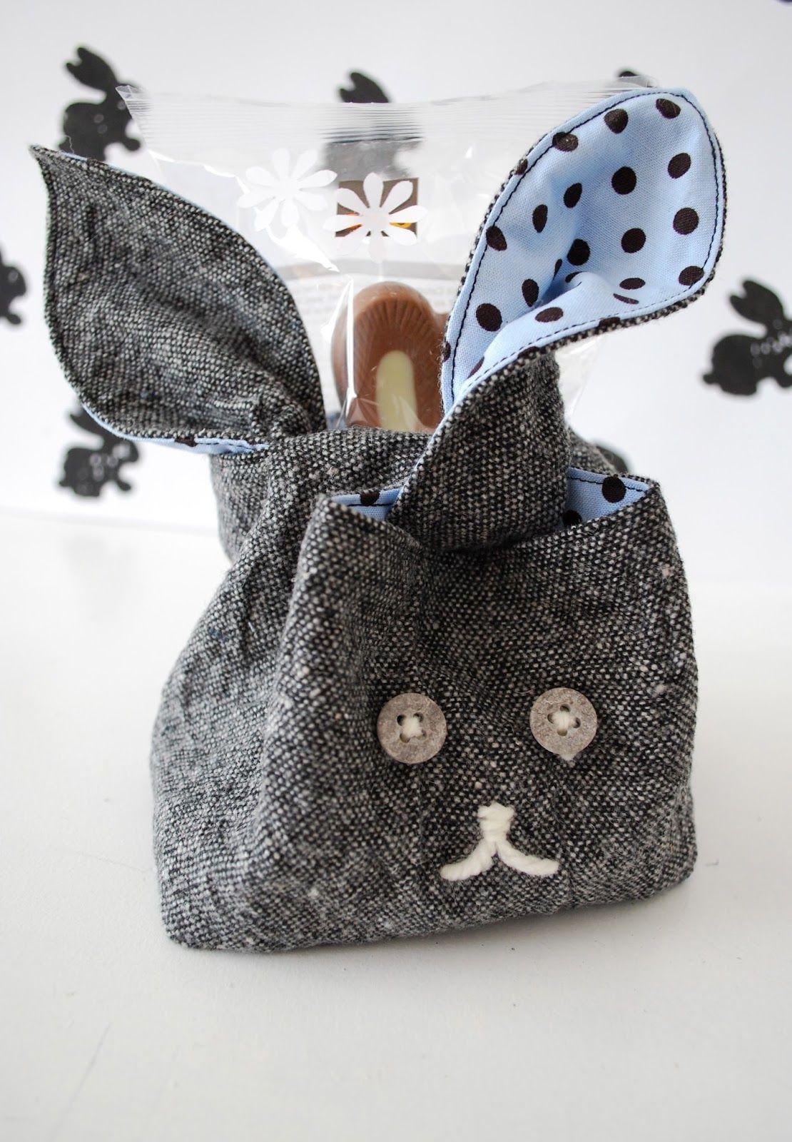 mamas kram: Hoppy Easter! Ostertasche, Hasentasche, Osternest Hase nähen