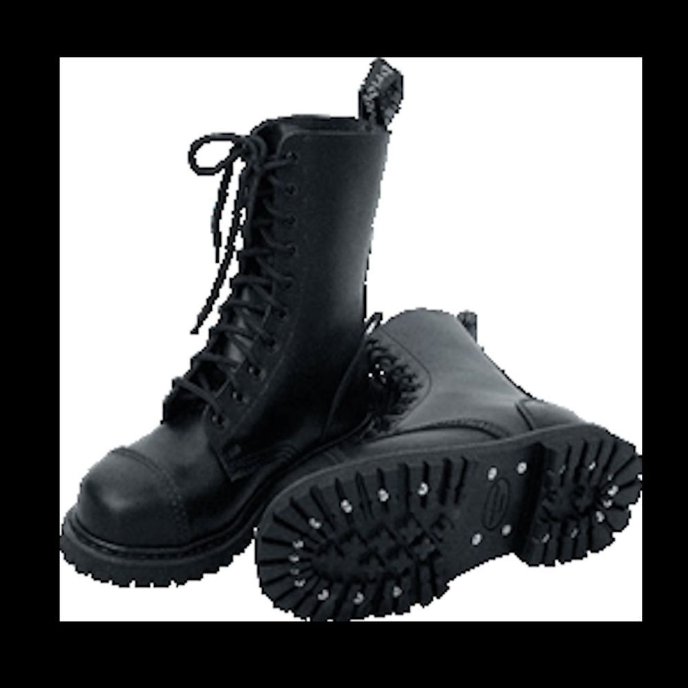 Details About Ranger Boots Leather Army Military Skinhead