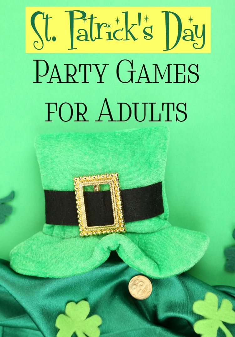 St patrick 39 s day party games for adults drinking games for Fun parties for adults