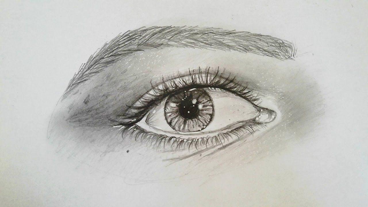 تعلم رسم العين البشرية بالتفصيل للمبتدئين الجزء الأول Youtube Art Blog Eyes